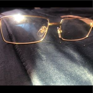 Cartier Accessories - Gold square frame Cartier's